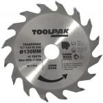 Tradesman TCT Blade 130mm x 20mm x 16 Teeth