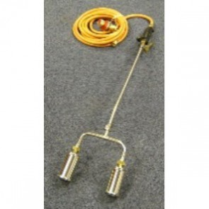 600mm Double Gas Torch c/w Reg