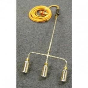 600mm Triple Gas Torch c/w Reg