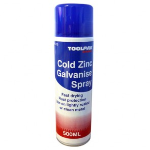 Cold Zinc Galvanise Spray 400ml Aerosol