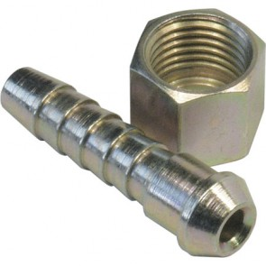 "Coned Tailpiece 5/16"" Hose & 1/4"" BSP Nut"