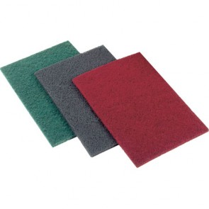 Hand Finishing Pad 150mm x 230mm - Very Fine - Red