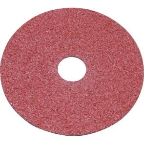 180mm Resin Backed Fibre Sanding Discs 100 Grit