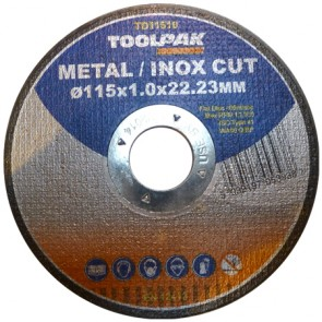 Super-Thin Metal Cutting Discs 115mm x 1.0mm x 22mm