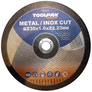 Super-Thin Metal Cutting Discs  230mm x 1.9mm x 22mm