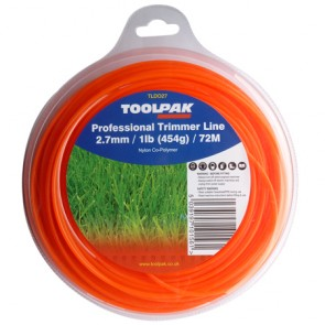 Professional Trimmer Line 2.7mm x 72M (1lb / 454g)