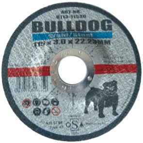 Flat Metal Cutting Disc 115mm x 2.5mm x 22.23mm