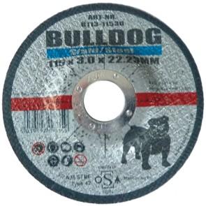 Flat Metal Cutting Disc 115mm x 2.5mm x 22.23mm