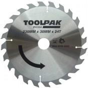 Tradesman TCT Circular Saw Blades 230mm x 30mm x 24 Teeth