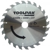 Tradesman TCT Circular Saw Blades 180mm x 30mm x 20 Teeth