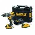DEWALT DCD796D2 18V XR BRUSHLESS COMBI DRILL INC 2X 2.0AH BATTS