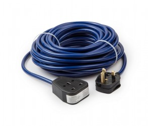 14m 230v 1.5mm 1 Gang Extension Lead
