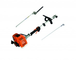 26cc 2-stroke Split Shaft Pole Hedgecutter c/w extension shaft