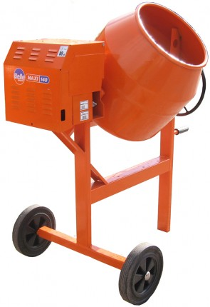 An extra heavy duty upright mixer maxi 140 110v