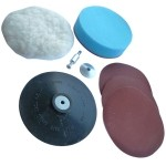 Sanding and Polishing Kit 125mm