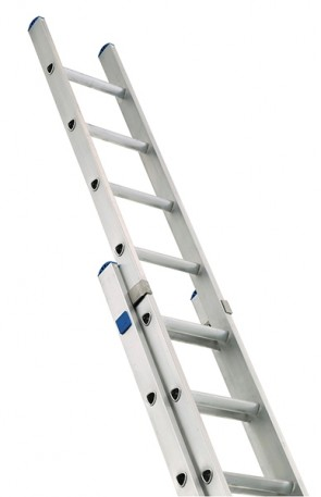 Zarges 2-Part Class 1 Industrial 2 x 8 Extension Ladder