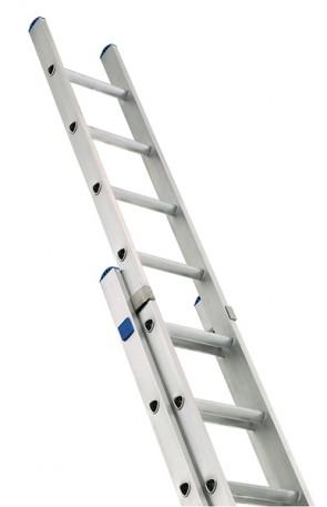 Zarges 2-Part Class 1 Industrial 2 x 10 Extension Ladder