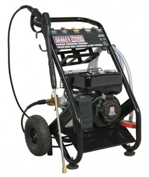Pressure Washer 220bar 540L/hr Self-Priming 6.5hp Petrol