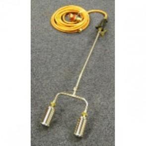 600mm Double Gas Torch c/w Reg