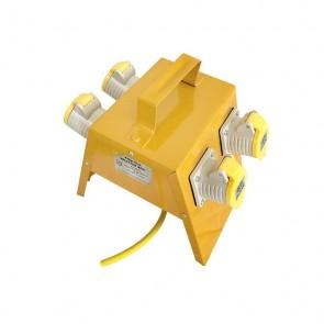 Elite 4 Way 115v 2.5mm Splitter Box