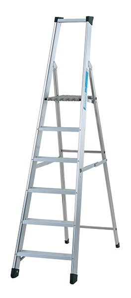 Zarges Class 1 Industrial Swingback Step 1 x 6 Stepladder