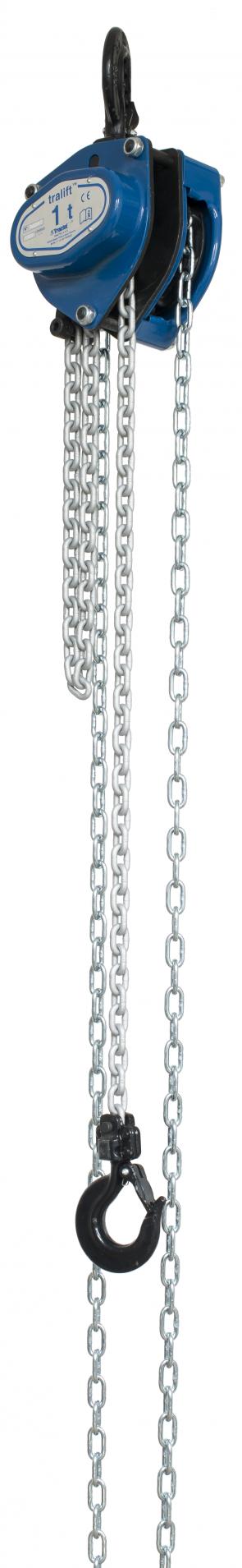 250kg Tralift Chain Block with 3m Corolim Chain