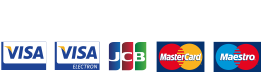 Secured by Cardsave Gateway from Worldpay we accept Visa, Visa Electron, JCB, Mastercard and Maestro